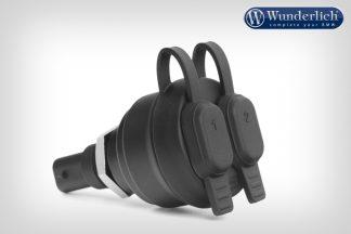 Wunderlich USB dual socket – black