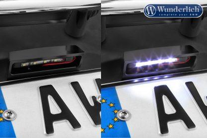 Wunderlich licence plate holder LED – black