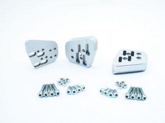 VarioErgo handlebar riser Kit – silver