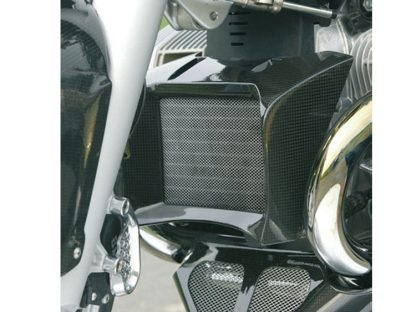 Oil cooler cover – Carbon