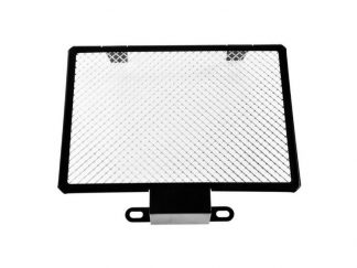 Oil cooler grill – black/silver