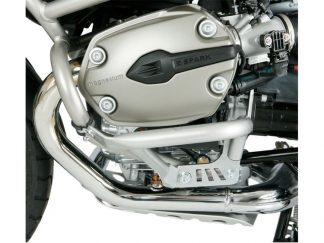 Valve cover protector with original BMW protection bar – silver