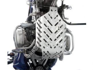 Engine protection plate Dakar – silver