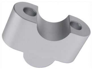 Handlebar riser 25mm – silver