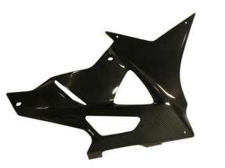 Belly pan – left – carbon