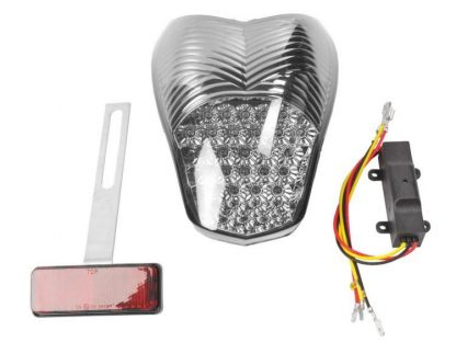 Clear rear Light | LED – smoked grey
