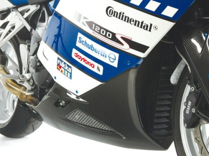 Belly pan without centre stand – large – carbon